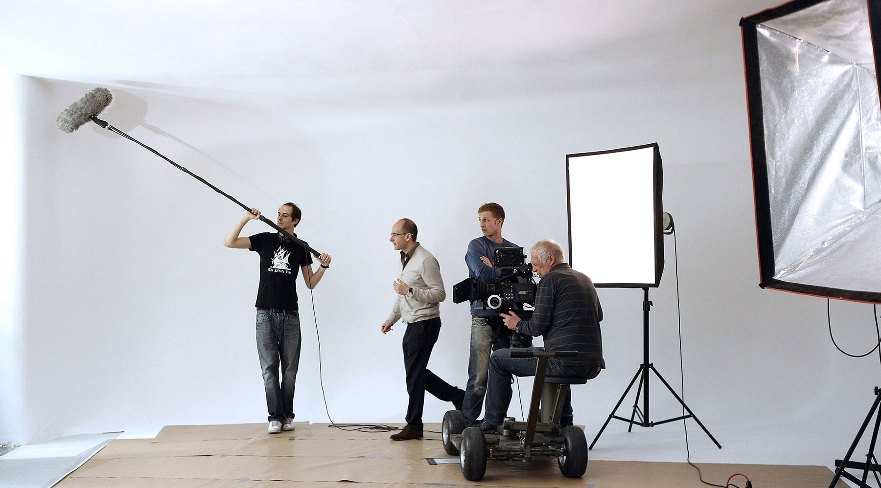 "FOTOSTUDIO MIETEN WIEN - Dreharbeiten für ""Universum History"" - FOTOLOFT"
